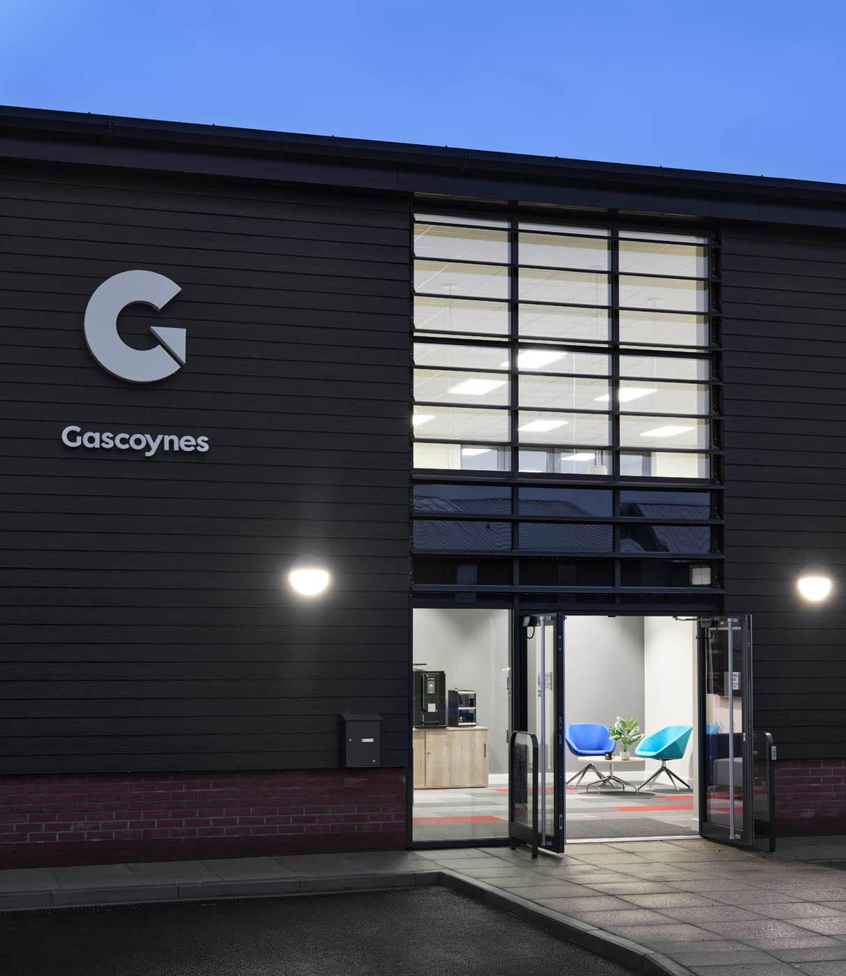 Gascoynes House - New Office Exterior
